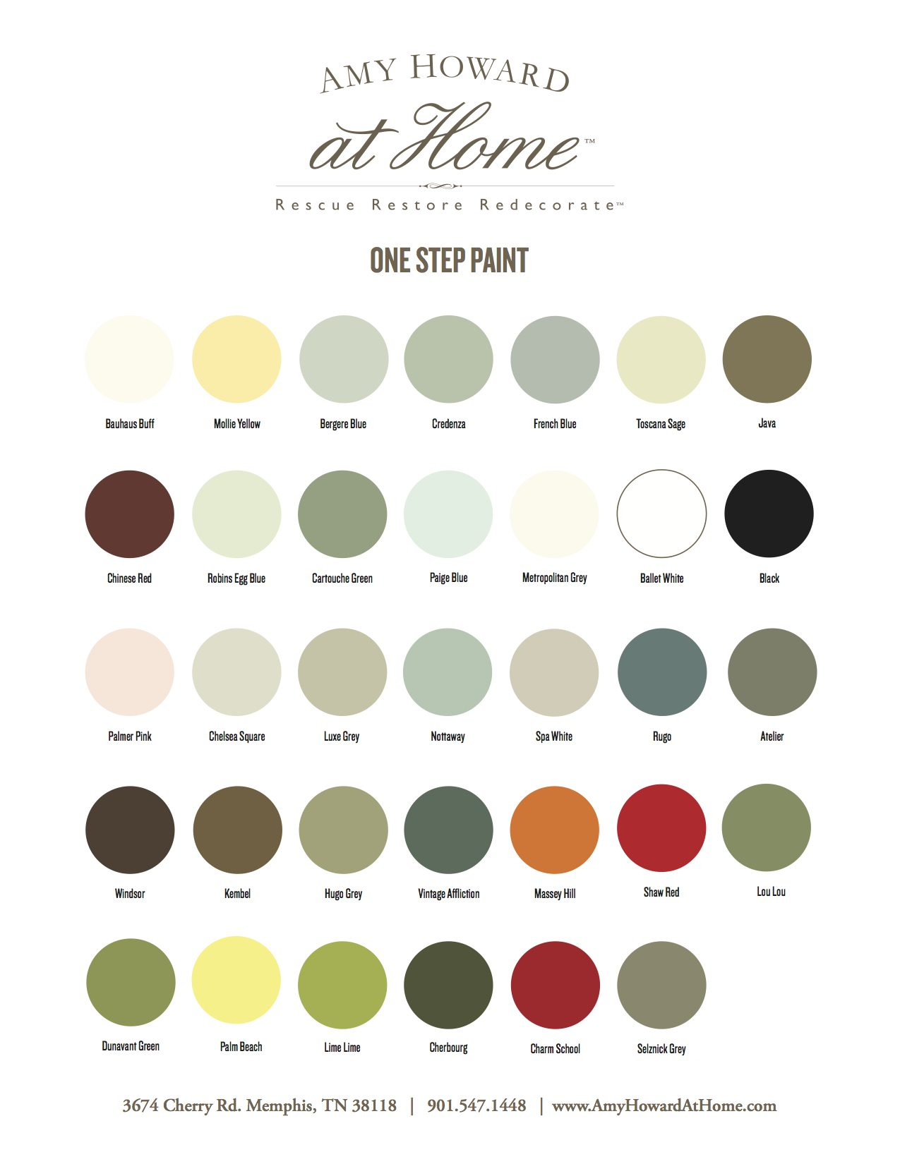 amy howard chalk paint Amy Howard Paint Collection | Heritage Wallpaper & Blinds amy howard chalk paint